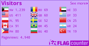 http://s10.flagcounter.com/count2/JRVD/bg_CFABFF/txt_A708C7/border_7939CC/columns_3/maxflags_15/viewers_0/labels_1/pageviews_1/flags_0/percent_0