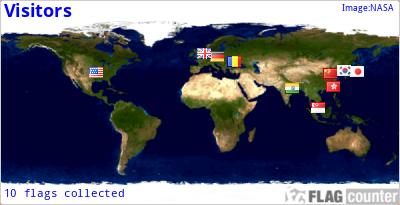 Pengunjung Dunia Map